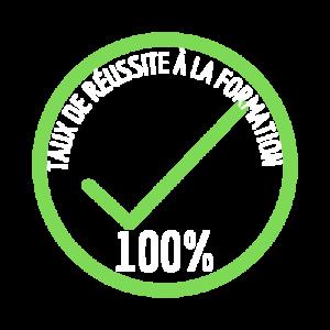 logo 100% de réussite